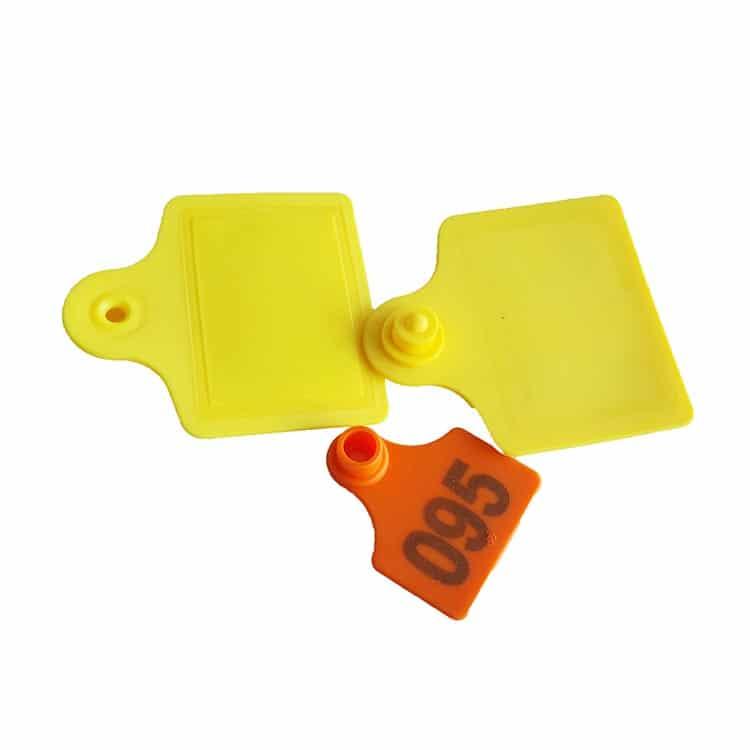 Verschiedene RFID Tier-Ohrmarken mit Nummerierung