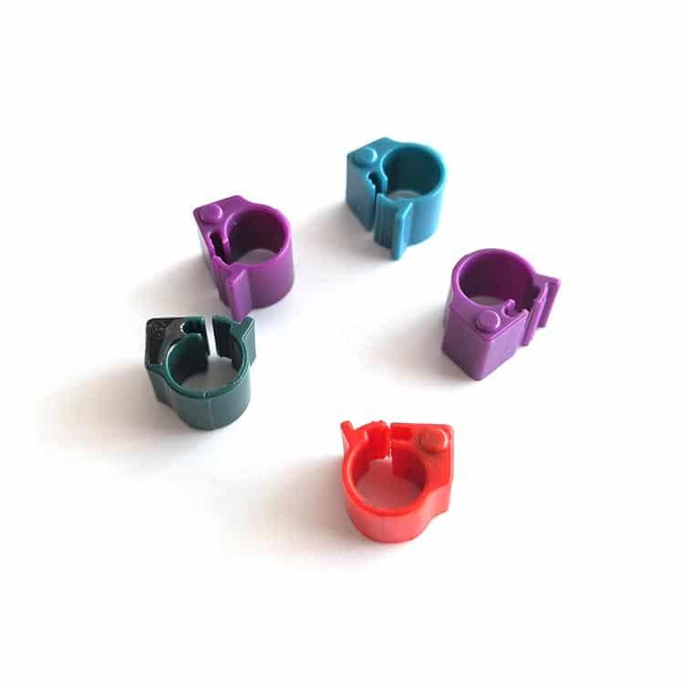 verschiedene Farben von RFID Bein-Tags