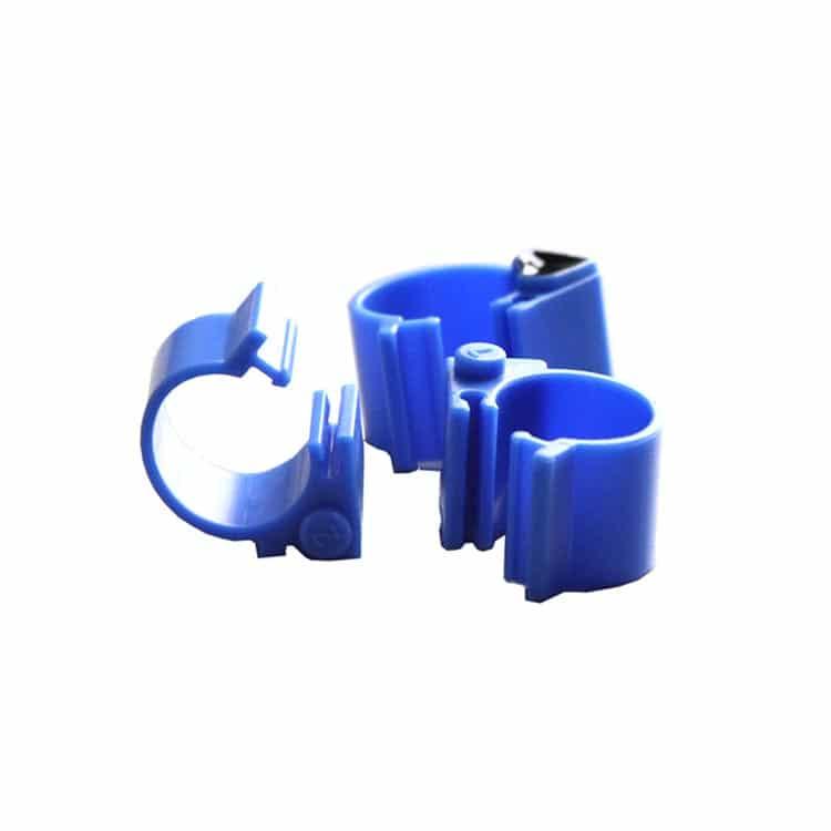blaues RFID Tier Fußkettchen