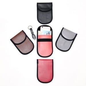 Verschiedene PU-Leder rfid Schutztaschen in verschiedenen Farben