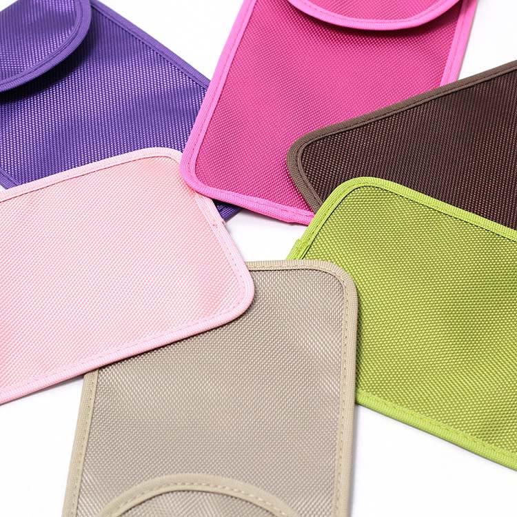 verschiedene Farben von rfid Schutztaschen
