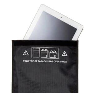Funktionsweise der Faraday-Tasche zeigen