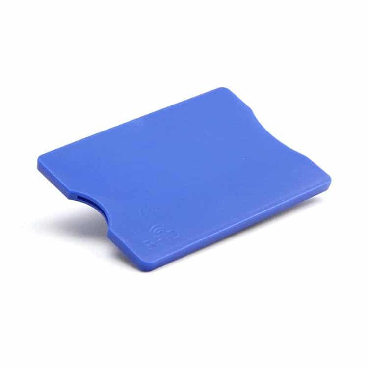 blaue rfid-blockende Hülse