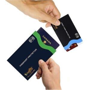 Pass- und Kreditkartenschutzhüllen mit individuellem Druck