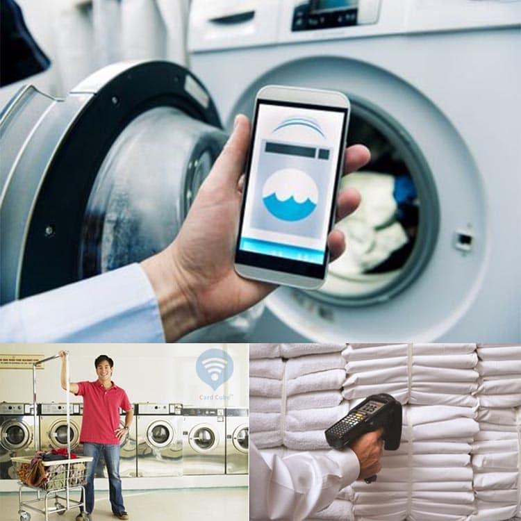 Anwendungsbeispiele von RFID Wäscherei Tags im Alltag