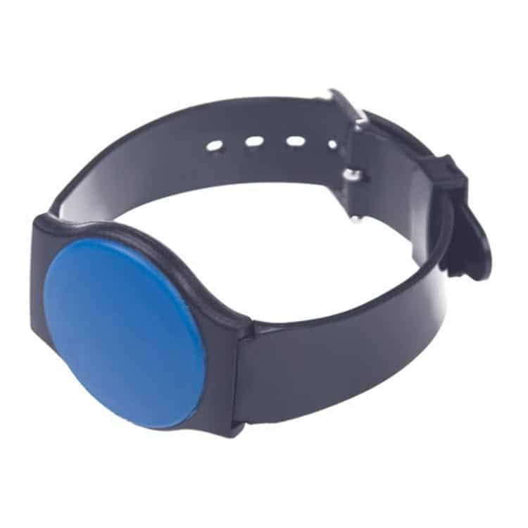 RFID-Armband aus Kunststoff in geschlossener Position