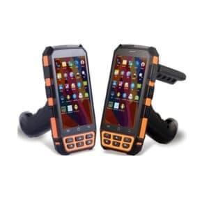 zwei RFID/NFC Handgeräte Frontansicht