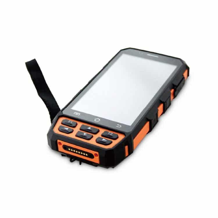android portables handgerät von vorne