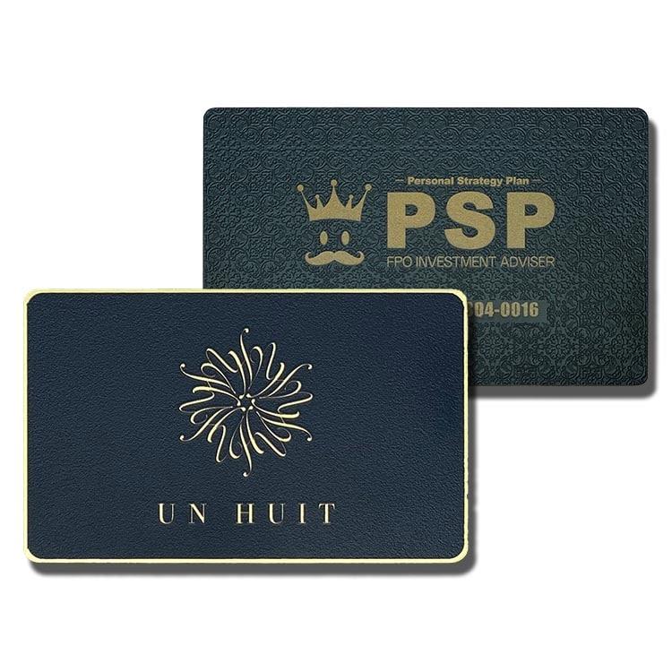 Aussergewöhnliche RFID-Metall-Chipkarten mit schönen Designs