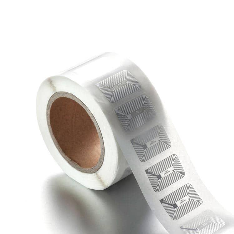 HF Dry Inlay RFID-Tags auf einer Rolle