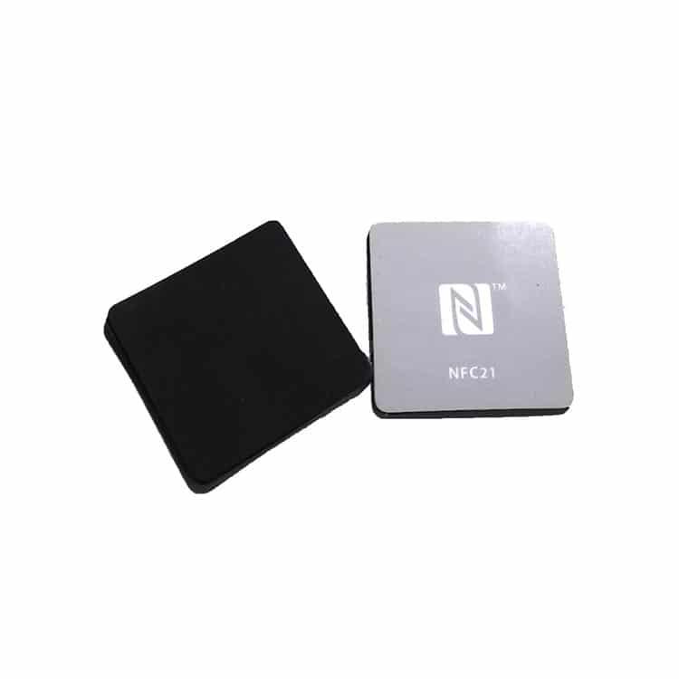 RFID-Aufkleber in quadratischer Form mit kundenspezifischem Druck